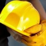 Caschetto giallo per sicurezza