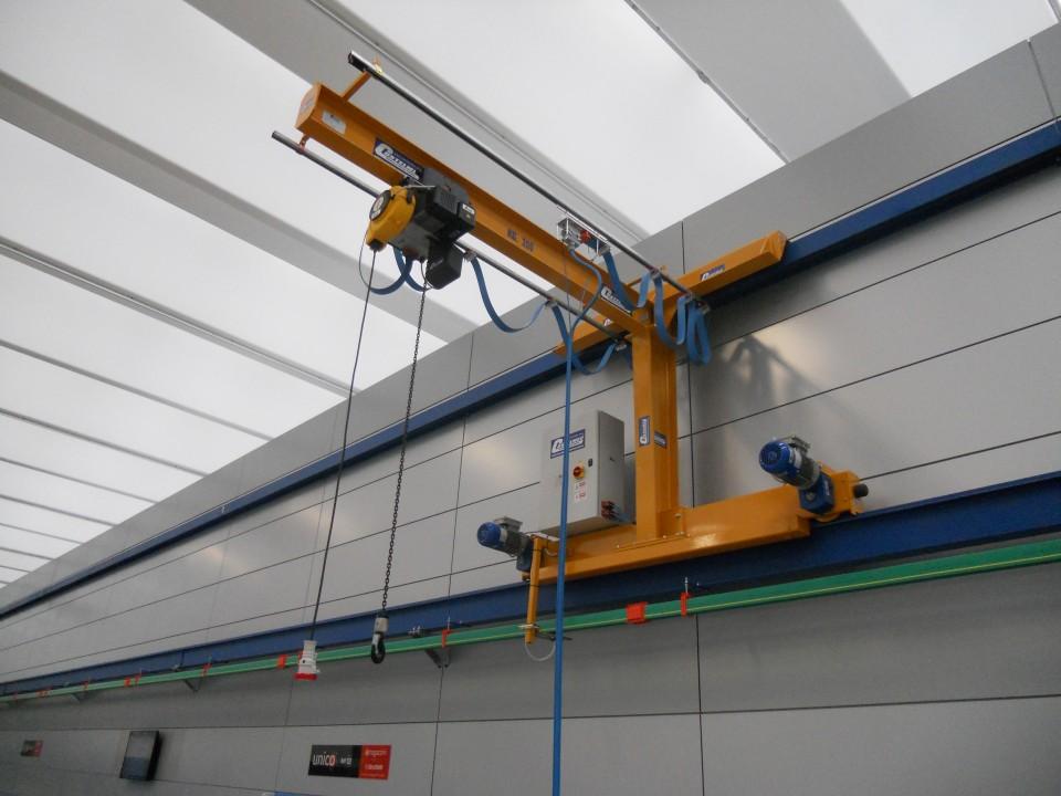Costelmec sollevamento e trasporto speciale for Paranco elettrico usato