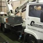 Mezzo aziendale Costelmec usato per riparazioni e assistenza