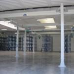 Impianti sospesi Costelmec in capannone industriale