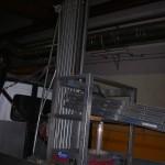 Mezzo utilizzato da Costelmec per la riparazione di gru a ponte