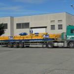 Camion che trasporta impianto di sollevamento Costelmec