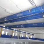 Gru a ponte blu personalizzata da Costelmec